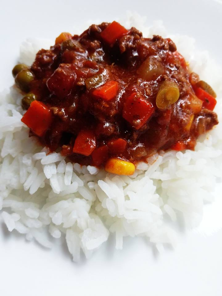 vert chilli & rice
